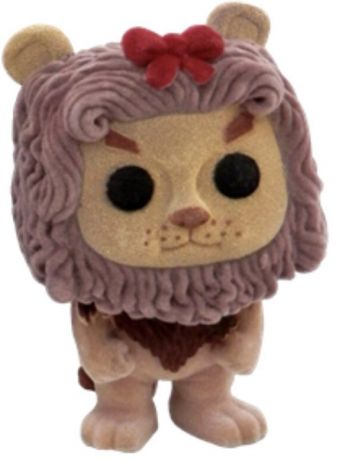 Figurine Funko Pop Le Magicien d'Oz #40 Lion lâche - Flocked