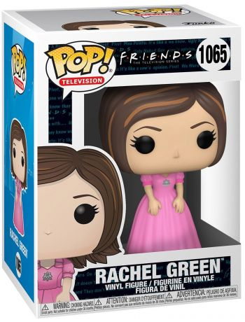 Figurine Funko Pop Friends #1065 Rachel robe rose