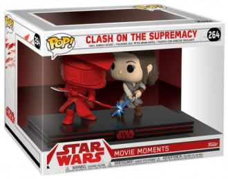 Figurine Funko Pop Star Wars 8 : Les Derniers Jedi #264 Clash on the Supremacy