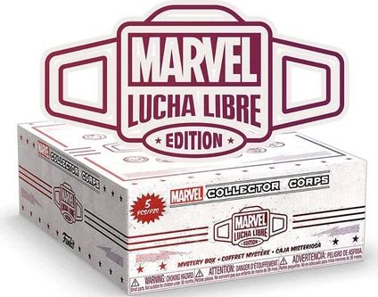 Figurine Funko Pop Marvel Comics #00 Marvel Collectors : Marvel Lucha