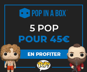 5 POP pour 45€ chez Pop In A Box