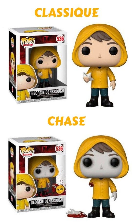 différence funko pop chase