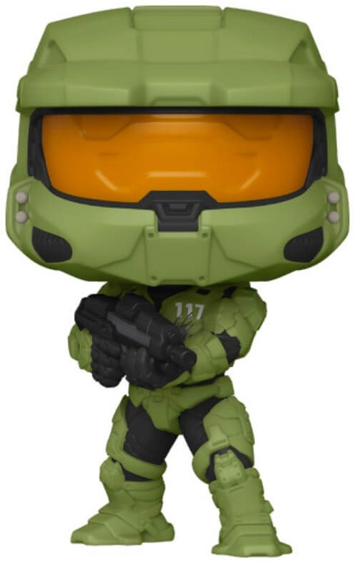 Funko Pop HALO n°13 Master Chief avec son arme MA40