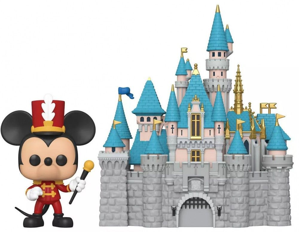 Château Disney land mickey funko pop