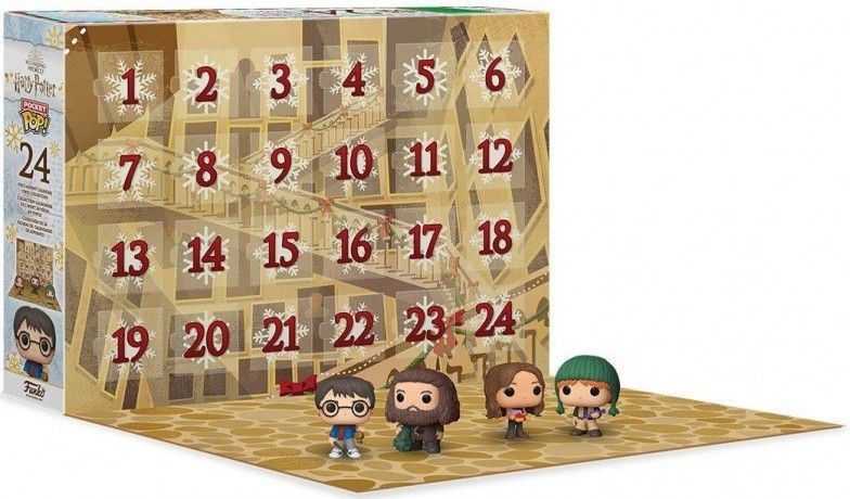 calendrier de l'avent noël 2020 harry potter pop