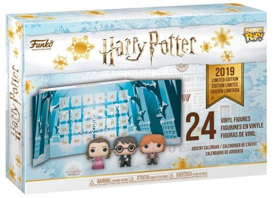 calendrier noel de l'avent pop harry potter