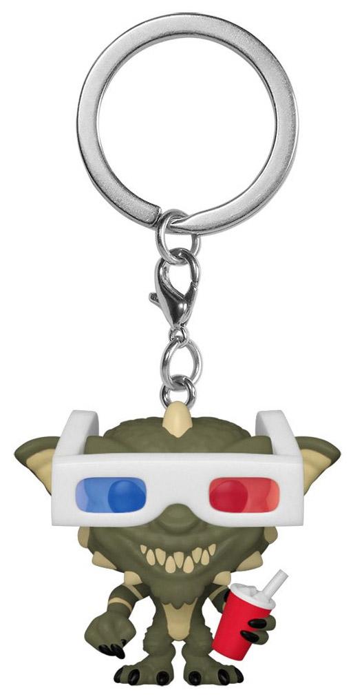 Funko Pop Keychain Gremlins - Gremlin avec lunettes 3D - Réf Funko 49828