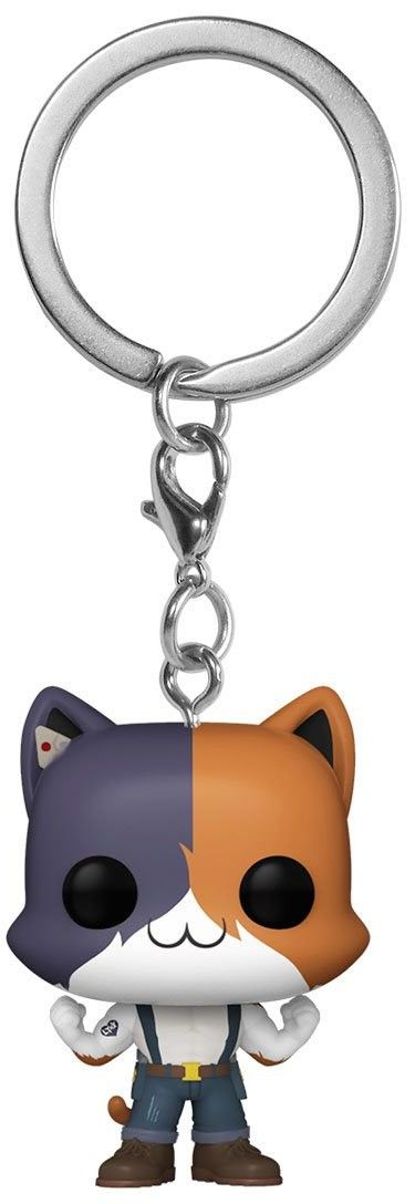 pocket keychain meowscles 53749