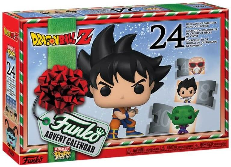 calendrier de l'avent funko pop dragon ball z 2020