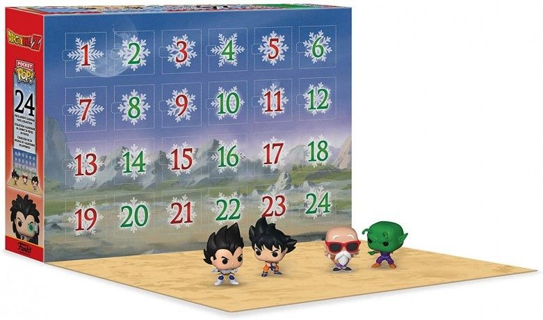 calendrier pop dragon ball z