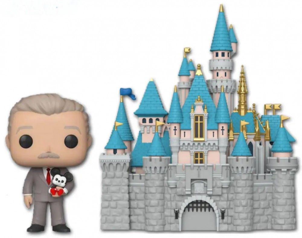 Château Disney Land walt disney funko pop