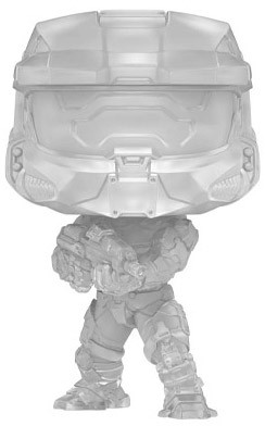 Funko Pop HALO n°18 Master Chief camouflage