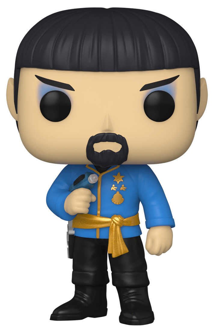 funko pop spock barbe