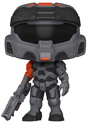Funko Pop HALO n°16 Spartan Mark VII avec son arme shock rifle