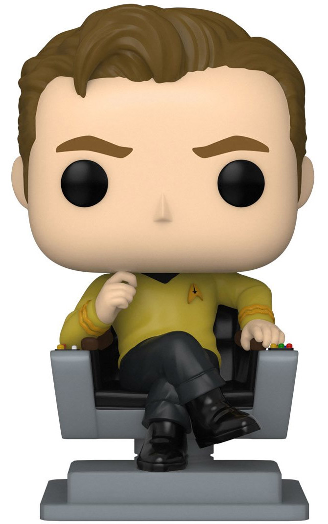Funko Pop capitaine kirk chair