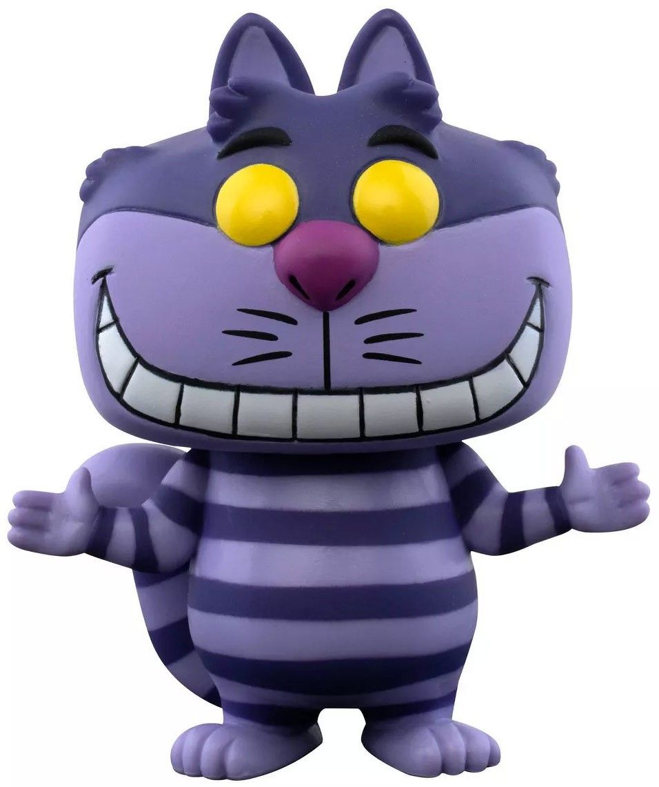 chat cheshire funko pop disney