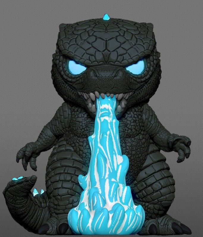 godzilla glow in the dark